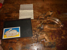 RARE Osterhase Ausstechform Rabbit Bunny Cookie Cutter with stand + instructions