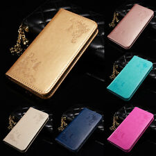 Luxury Leather Magnetic Flip Stand Card Slot Wallet Case Cover For Apple iPhone