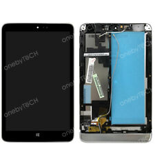 8 inch Lenovo Miix 2 8 LCD Display Touch Screen Assembly+Silver Frame Bezel Part