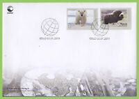 Norway 2011 Fauna set on First Day Cover