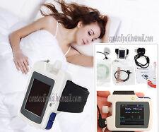 New Sleep apnea screen meter RS01,SpO2,Pulse Rate,Nose Air flow monitor,Alarm,SW