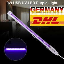 9W LED UV Schwarzlicht Party Bar Bühne Disco Club Waschlichter USB Wandleuchte