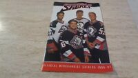 1996-97 Buffalo Sabres Merchandise Catalog  Mike Peca, Rob Ray, Pat Lafontaine