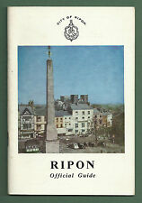 C1969 OFFICIAL GUIDE TO RIPON, YORKSHIRE P/B