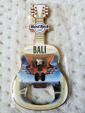 NEW Hard Rock Hotel Cafe BALI AIRPORT Indonesia Bottle Opener Guitar Magnet