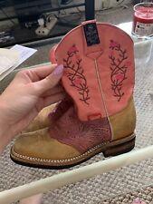 kids cowboy boots size 2