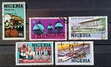 NIGERIA - 1973 - Definitive Issues - Lot of 5 Used Stamps