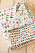 Party Time Fabric cotton linen blend colorful sewing quilting patchwork craft