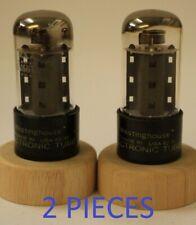 6V6GTA Westinghouse USA D getter 2 pieces NOS tube valve
