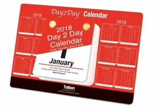 2022 Day To View Stand Up Tear Off Desk Office Calendar Planner Quotes & Facts