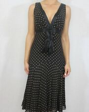 Silk Special Occasion Midi Spotted Dresses for Women