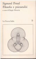 (Sigmund Freud) Filosofia e psicoanalisi 1989 La nuova italia