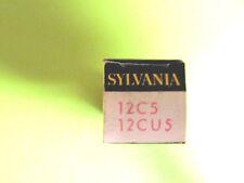 12C5 /12CU5 SYLVANIA VINTAGE (TUBE), (NEW IN BOX / NEW OLD STOCK).