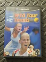WTA Tour Tennis Complete Good Condition (Nintendo GameCube, 2002)