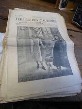 les veillées des chaumières - 58 ° année - 104  nunéros de 1934/1935