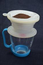 klappbar Aufgießen Kaffeefilter Kegel eine Tasse Tropfer umklappbar FDA Silikon