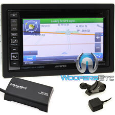"ALPINE INE-W960HDMI 6.1"" CD DVD GPS BLUETOOTH NAVIGATION SIRIUS XM TUNER IPHONE"
