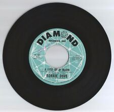 RONNIE DOVE 45 RECORD-A LITTLE BIT OF HEAVEN/ IF I LIVE TO BE A HUNDRED..VG+1965
