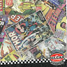 vw transporter T4 fuel flap wrap vintage comic stickerbomb oilcan original