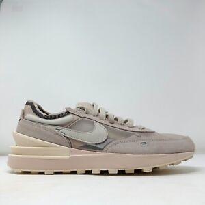 Nike Waffle One NBY Beige Sneakers DJ0966-991 Mens Size 12