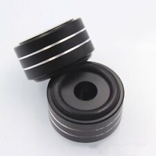 4Pcs 40x20mm HIFI AMP Haut-Parleur Isolation Stand Platine DAC Pieds Pad Noir