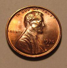 1970 S Small Date Lincoln Cent Penny - AU+/BU Condition - 33SU-2