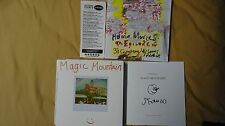 James Franco Magic Mountain Home Movies Signed Book RARE HC Art Photography Poet