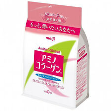 [MEIJI] Amino Collagen Drinkable Powder Beauty Supplement 30Day Refill JAPAN NEW