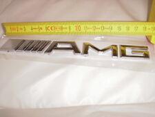 3D MERCEDES AMG HECK Emblem Chrom Logo Autoaufkleber