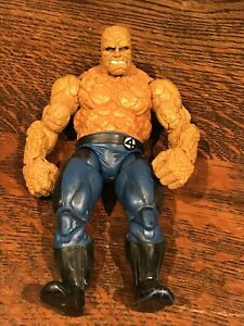 Marvel Fantastic Four The Thing 7 Inch Figure 2005 Toy Bitz