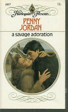 Jordan, Penny - Savage Adoration - Harlequin Presents - # 1057