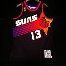 100% Authentic Steve Nash Mitchell Ness Suns NBA Jersey size 44 L