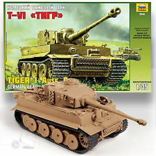 ZVEZDA 1/35 TIGER 1 AUSF.E EARLY PRODUCTION TANK KIT