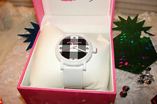BETSEY JOHNSON WATCH PLAID FACE NIB THIS WATCH IS SO COOL!! ! RARE & HTF!!