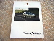 PORSCHE PANAMERA S 4S TURBO FIRST PRESTIGE SALES BROCHURE 2009 USA EDITION