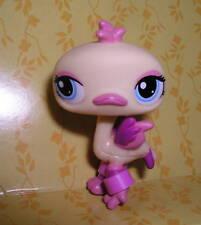 Littlest Pet shop yellow/pink ostrich #1416 New