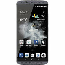 "ZTE Axon 7 64GB quartz gray Dual-SIM Smartphone 5,5"" Android 7  NEU/OVP"
