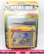 Metal Diy ~ Bulldozer toy ~ Develops Mechanical Skills / Erector