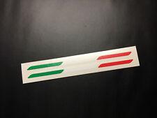 Italy Italian Sticker  Flag Stripe Euro Car Window Bumper Dash Vinyl Decal 01