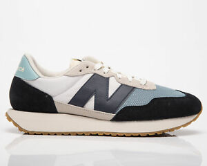 New Balance 237 Men's Beige Blue Black Casual Athletic Lifestyle Sneakers Shoes