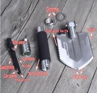 New Mini Military Folding Shovel Survival Emergency Camping Portable Spade Multi