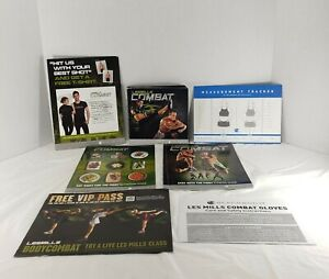 Les Mills COMBAT Full 8 DVD Set (Original 5 + 3 Bonus DVDs ) with 2 Guidebooks
