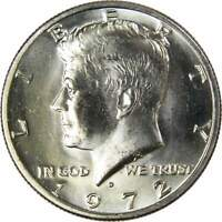1972 D Kennedy Half Dollar BU Uncirculated Mint State 50c US Coin Collectible