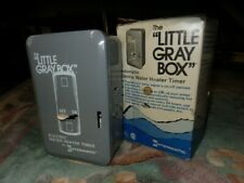 Intermatic  Indoor  Electric Water Heater Timer  250 volt Gray NOS