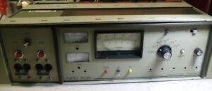 Varian NRC 836 Vacuum Ion Gauge Controller and Mechanical Pump Controller