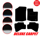 Tailored DELUXE Carpet Car Floor Mats to fit Toyota Aygo 2005 to 2014 & 1 Clip
