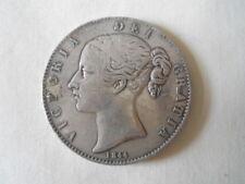 1844 Victoria Silver Crown British Coins