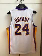 Kobe Bryant 24 Los Angeles Lakers Adidas NBA Jersey Youth XL