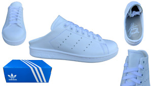 adidas Stan Smith Mule Womens Trainers FX0532 Leather RRP 75 CLEARANCE FREEPOST