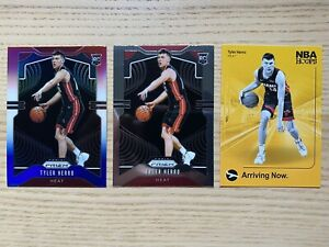 2019/20 Panini Prizm/NBA Hoops Tyler Herro RC Rookie Card x3! *READ*